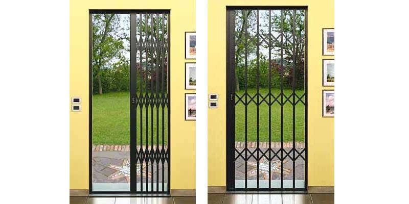 Sistemi blindati metal design maffeisistemi infissi e - Inferriata porta ...