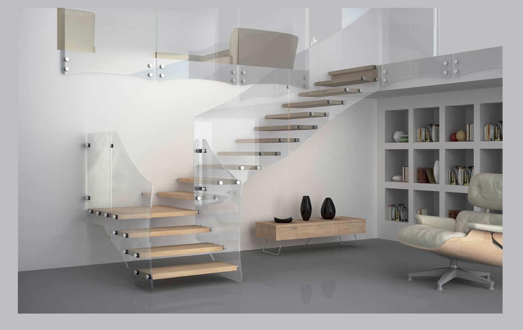 Scale per interni mobirolo maffeisistemi vendita online - Scale rivestite in legno per interni ...