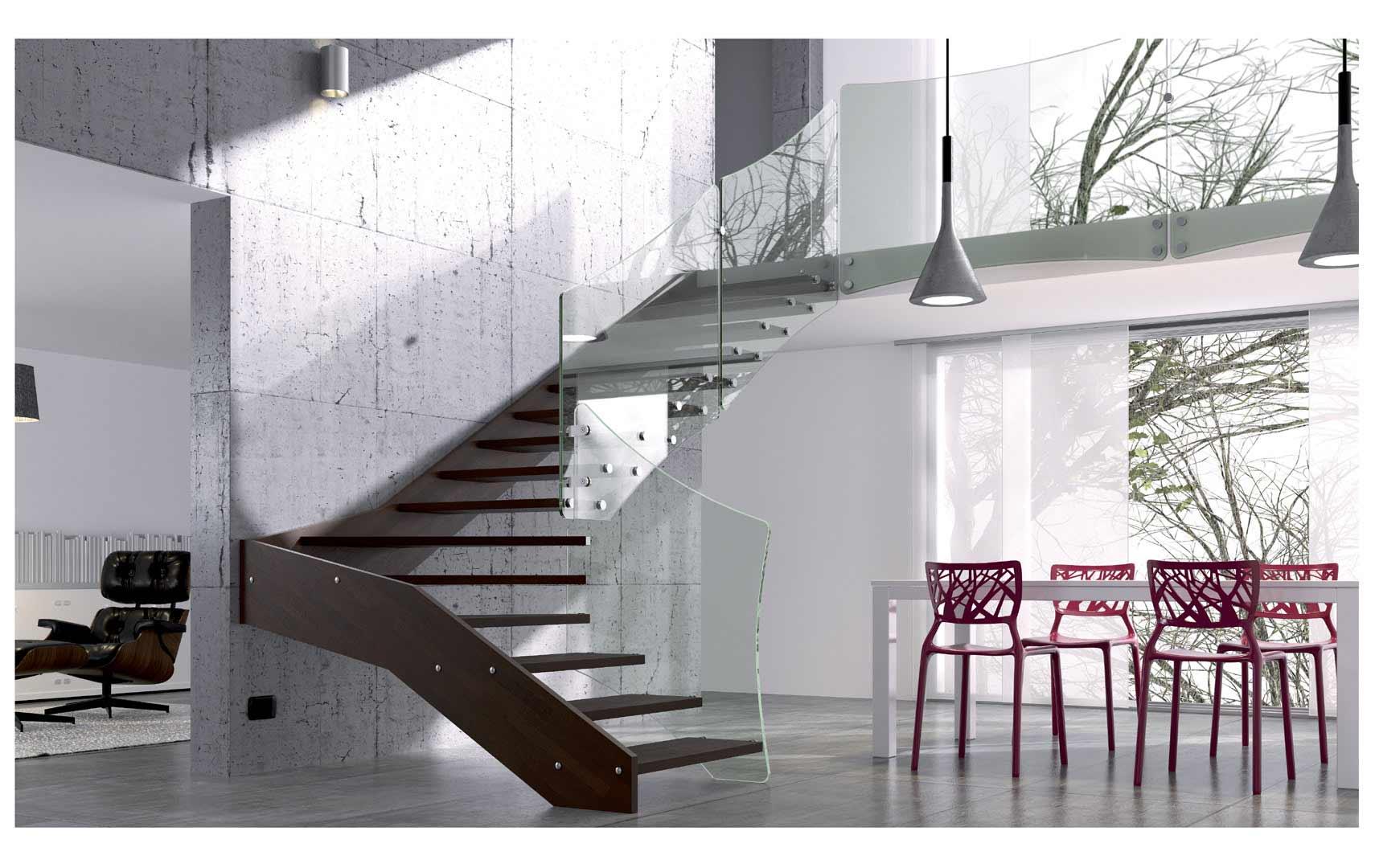 Scale per interni mobirolo maffeisistemi vendita online - Scale interne design ...