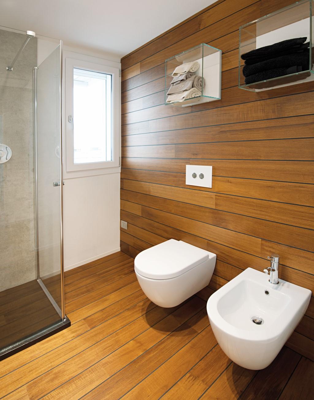 Pavimenti in legno parquet garbellotto maffeisistemi - Legno per bagno ...