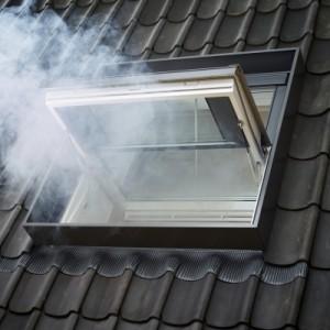 Evacuazione di fumo e calore