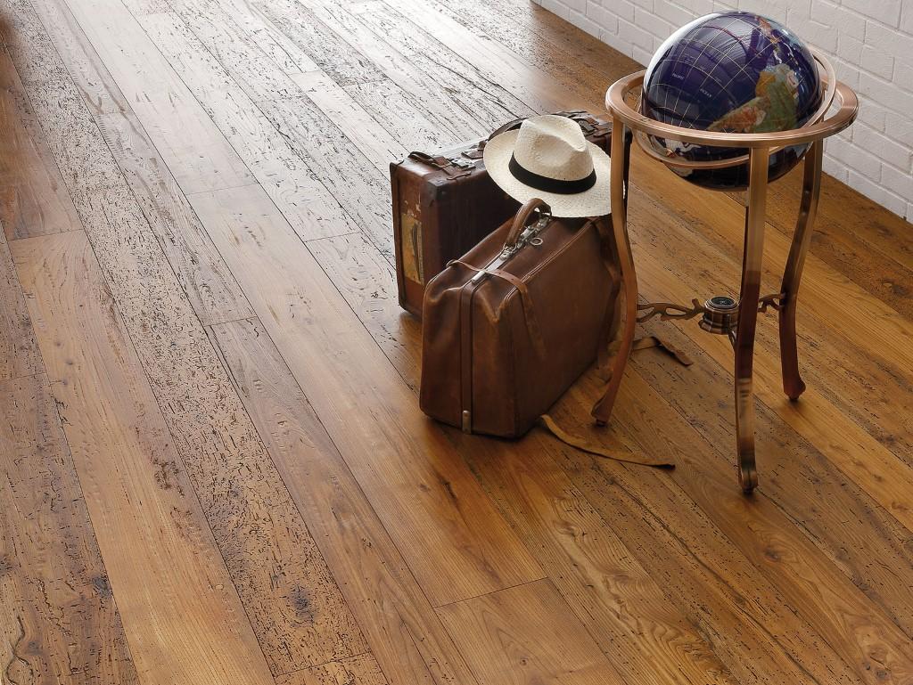 Pavimenti in legno parquet garbellotto maffeisistemi - Parquet nel bagno ...