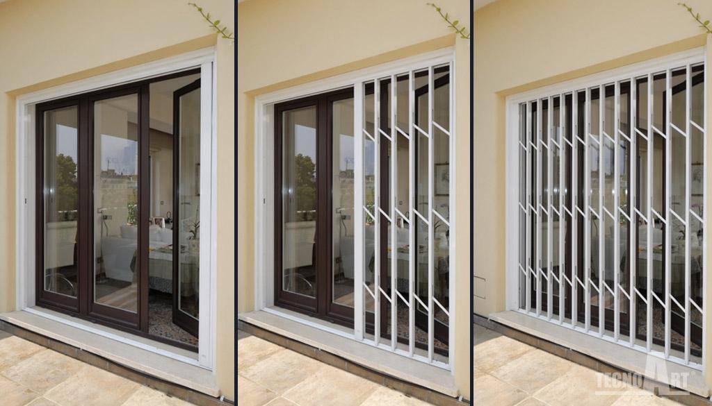 Sistemi blindati metal design maffeisistemi infissi e - Sistemi di sicurezza per finestre ...