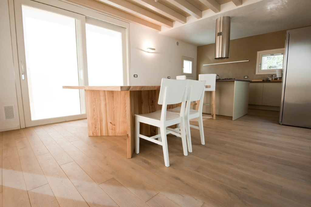Rovere sbiancato cucina tappeto parquet cucina idee per il design