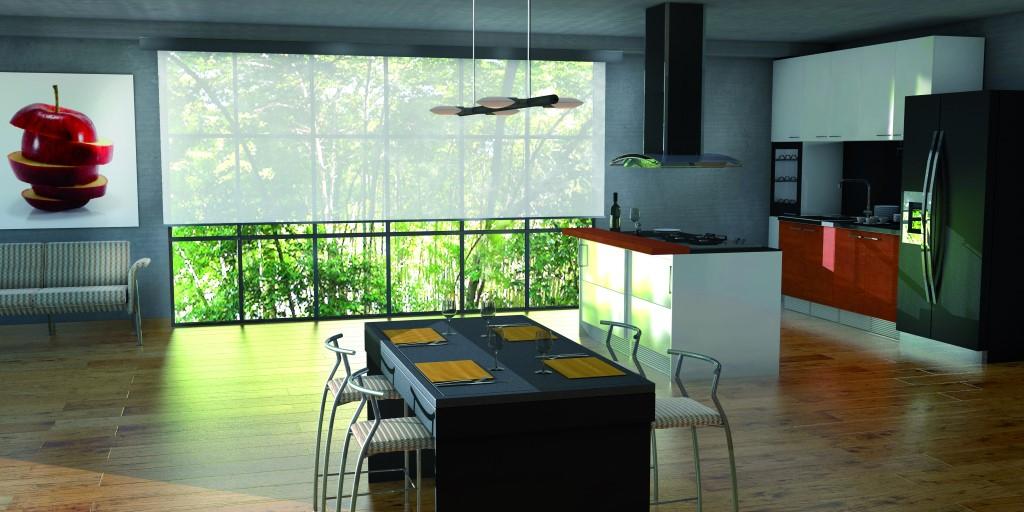 Tende tecniche per interni suncover maffeisistemi for Tende per cucina vendita on line
