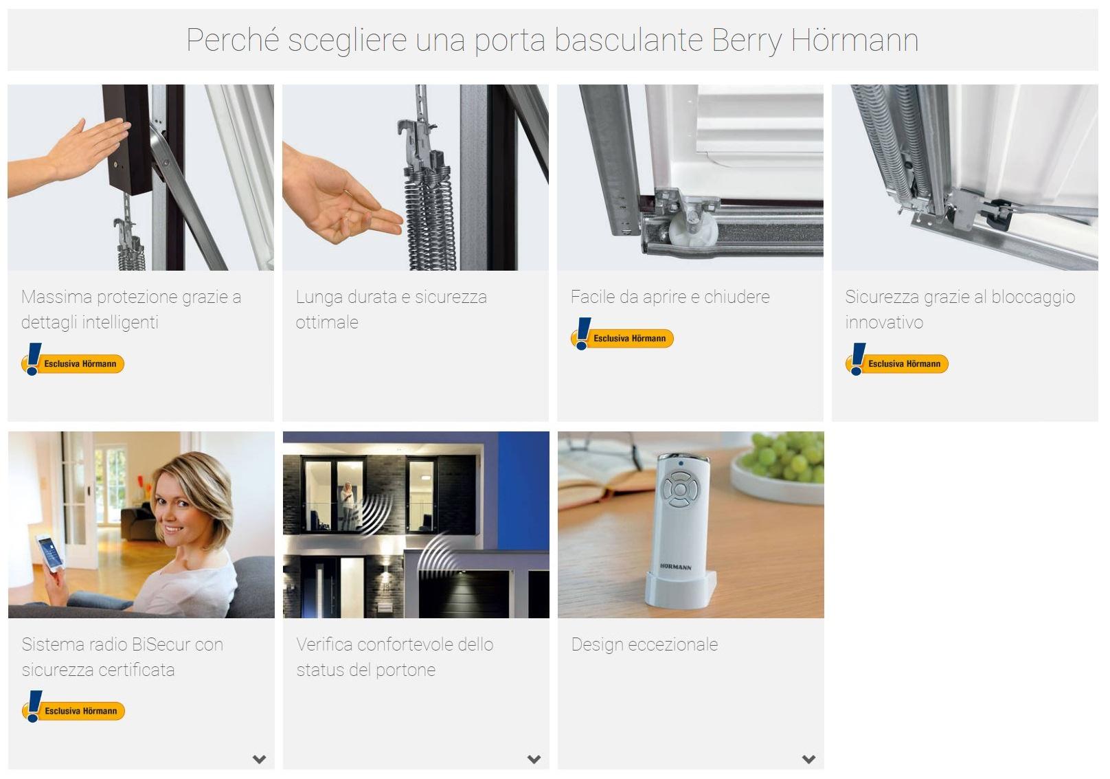 Schemi Elettrici Hormann : Porta basculante berry mod. n80 motivo 902 in pronta consegna mis. l