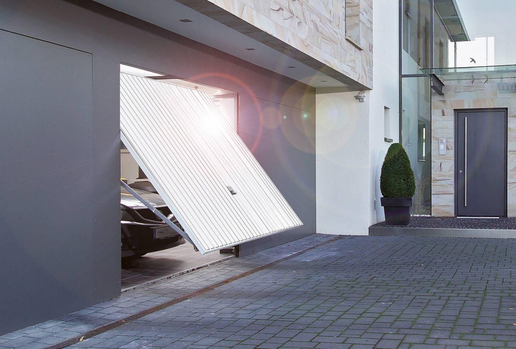 Porta basculante hormann mod berry n80 maffei sistemi - Porte garage hormann ...