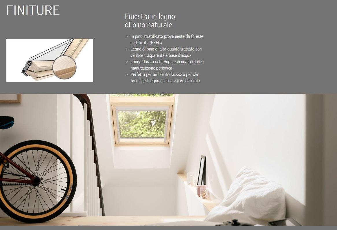 Velux ggl 307021 finestra per tetto apertura elettrica for Tende per velux
