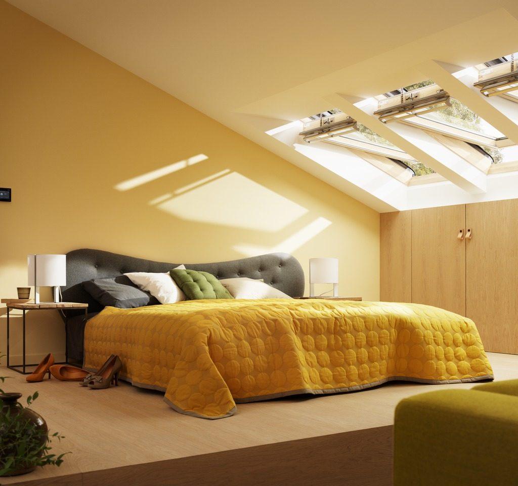 Tende Per Soffitti Inclinati finestra per tetto velux gpl 3086 tripla protezione, apertura manuale  vasistas