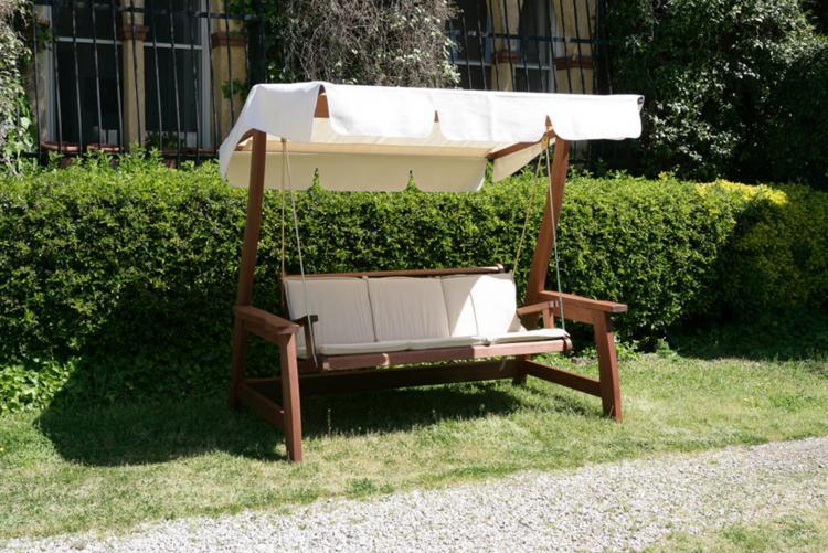 Dondoli a 3 posti de luxe maffei sistemi srl vendita for Offerte arredo giardino online