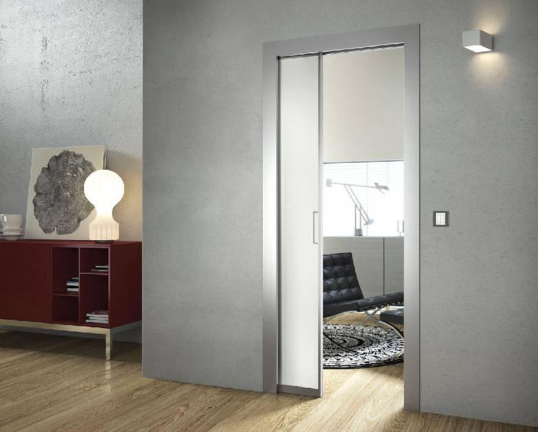 Controtelaio cartongesso doortech by scrigno anta unica for Doortech controtelai