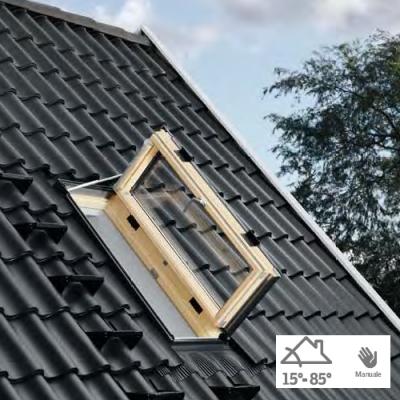 Finestra per l 39 uscita sul tetto gxu 0066 energy clima maffei sistemi srl vendita infissi online - Finestra sul tetto ...