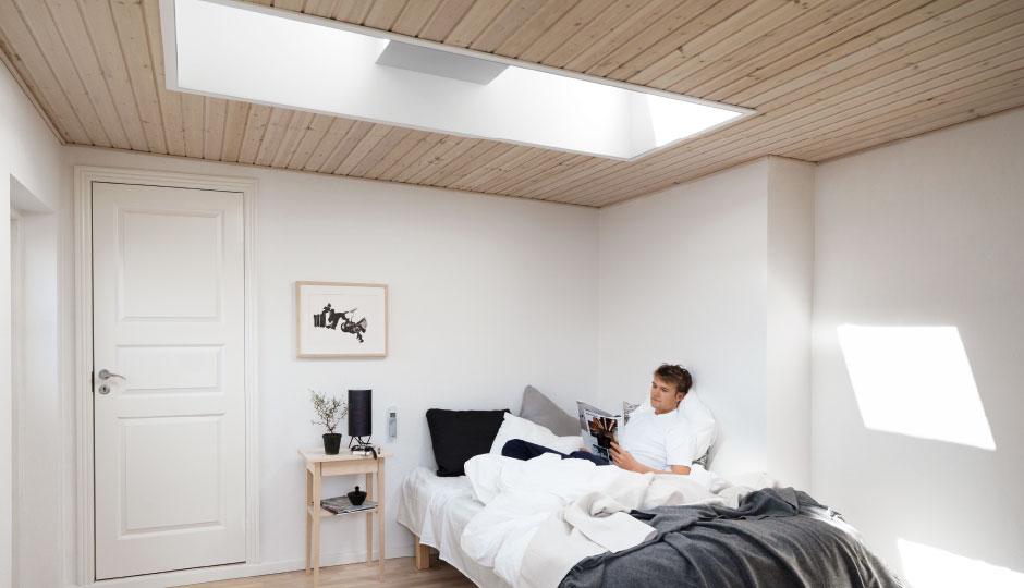 Finestra velux cfp 0073 per tetti piani fissa non for Velux finestre per tetti piani