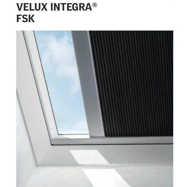 Tenda fsk velux oscurante plissettata interna solare for Prodotti velux