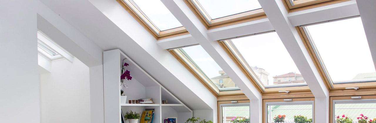 Elemento verticale velux vfe 3060 di abbinamento con le - Finestre sui tetti ...