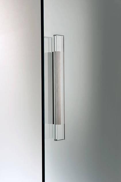 Maniglia per porte in vetro mod ghost scrigno maffei - Maniglie porte vetro ...