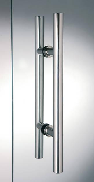 Maniglia per porte in vetro mod tube scrigno maffei - Maniglia porta ingresso ...