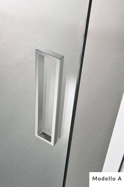Maniglia per porte in vetro mod modello a scrigno - Maniglie porte vetro ...