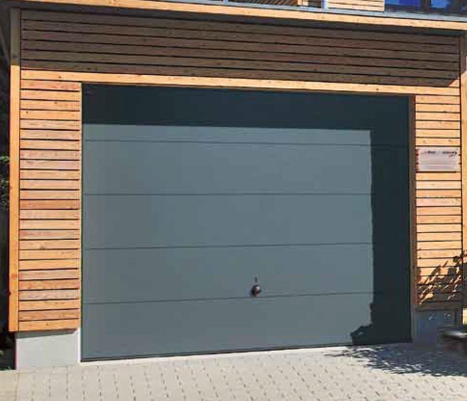 Porta basculante hormann mod berry n80 motivo 985 - Quanto costa porta basculante garage ...