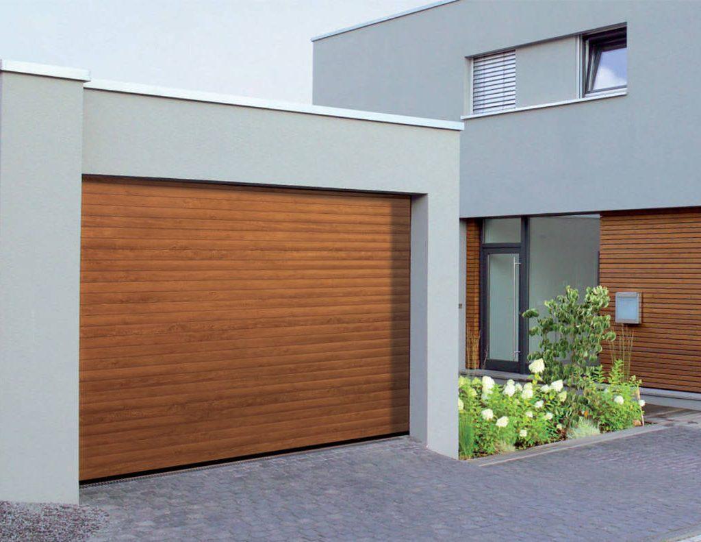 Armadio Da Garage serranda avvolgibile da garage rollmatic hormann effetto legno