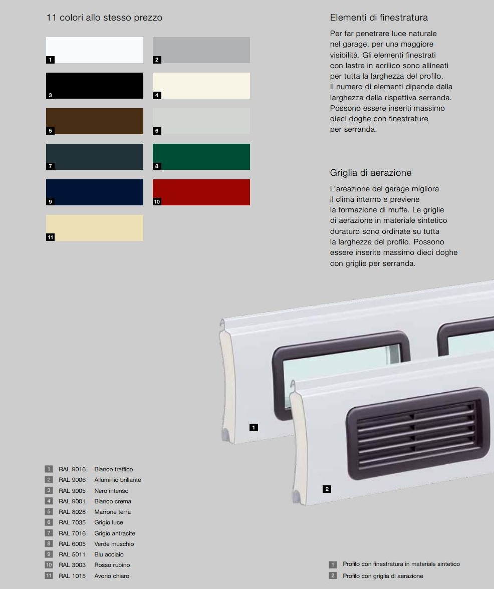 Serranda Avvolgibile Da Garage Rollmatic Hormann Color Maffei