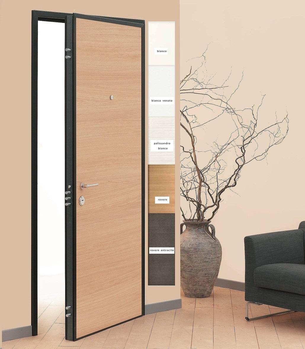 Pannello interno per porta blindata linea comfort scrigno - Pannello decorativo per porte ...