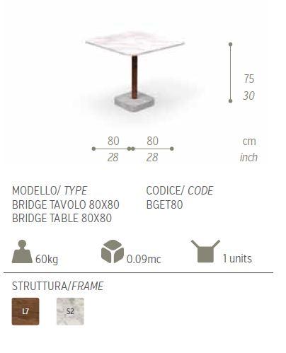 BRIDGE 80X80