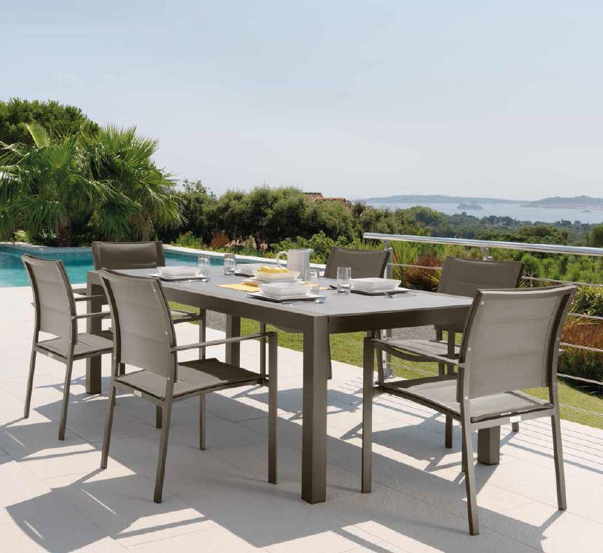 Tavolo pranzo allungabile 152 225 cm touch collection - Tavolo da giardino ikea ...