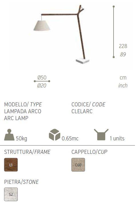 cleo lampada