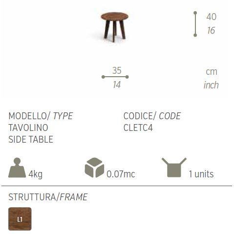 cleo tavolino