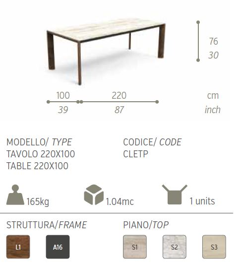 cleo tavolo iroko 1