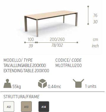 milotextilene tavolo 2000descriz