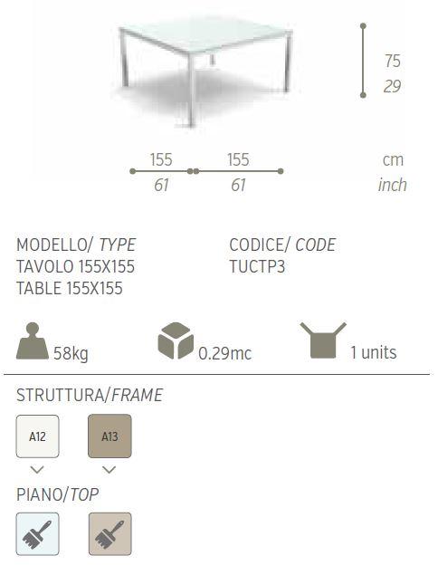 tavolo 155x1552