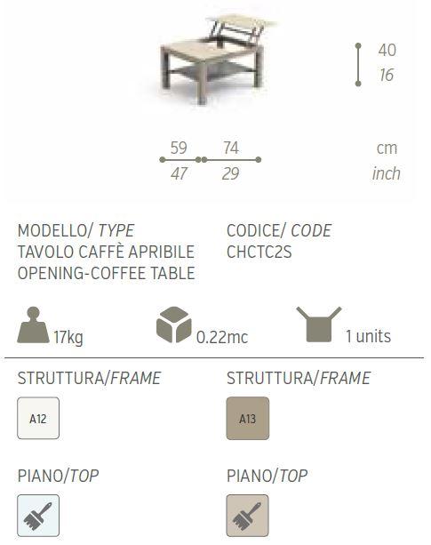 tavolo caffe piccolo