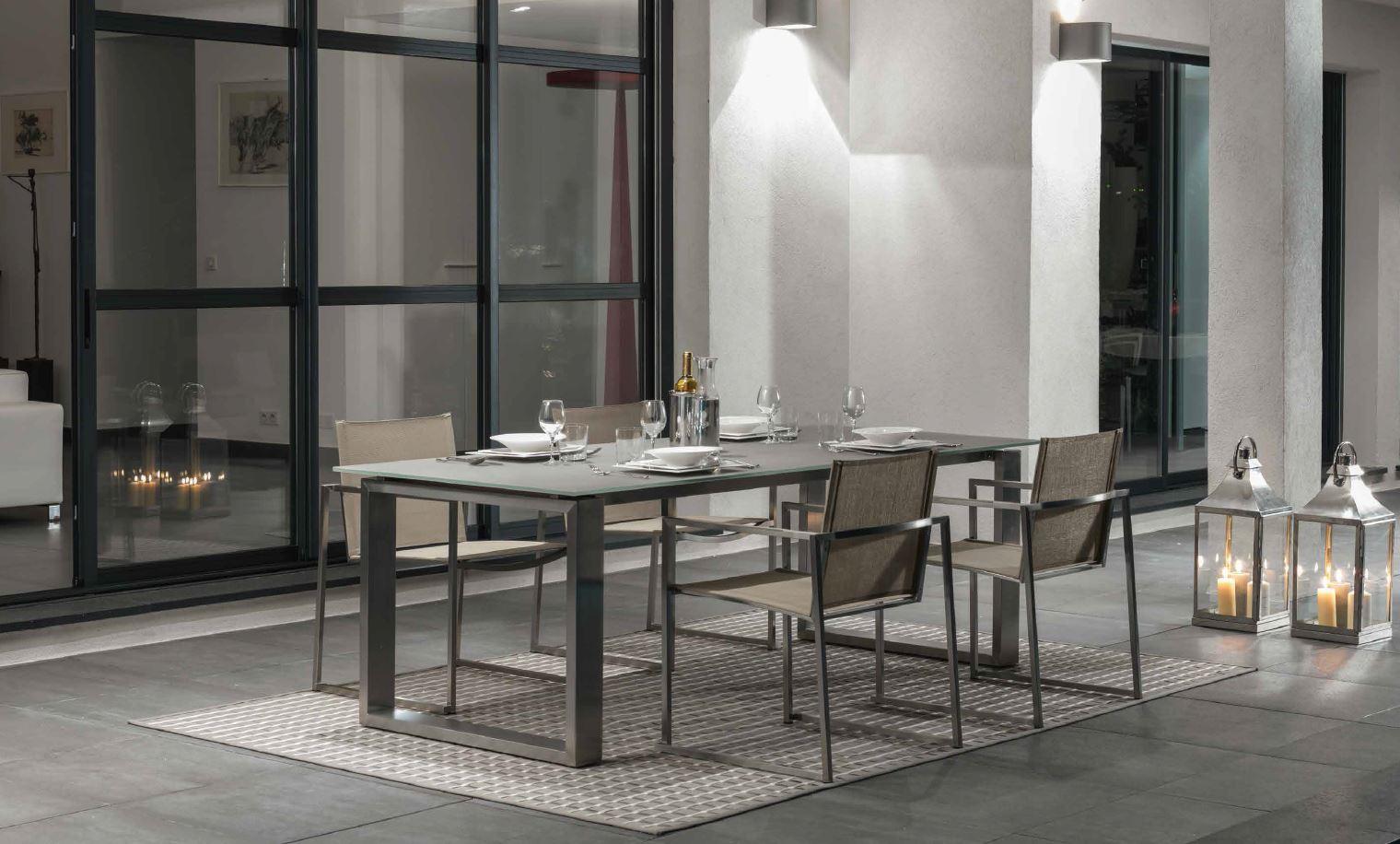 essence tavolo e poltr alluminio2
