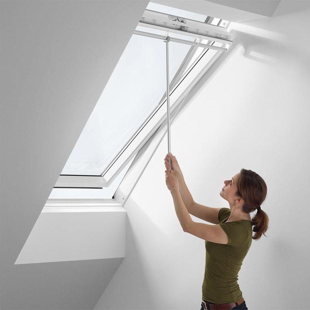 Asta di manovra 80 cm pr finestra per tetti velux zcz 080 for Finestre da tetto velux