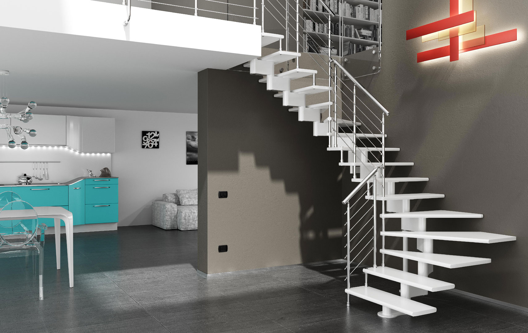Tende Per Finestre Scale scopri le novità sul mondo delle scale mobirolo | maffeisistemi