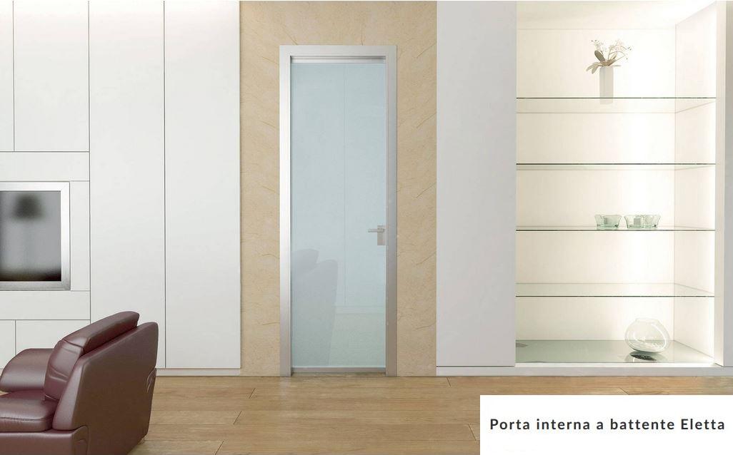 Porta in vetro Battente Scrigno mod. Eletta Anta Unica | Maffei ...