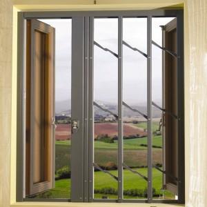 Grate di sicurezza blindate praesidium archivi maffei for Grate in legno per balconi