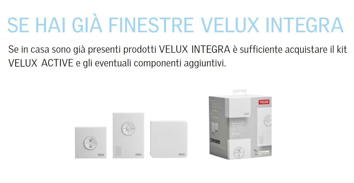Velux active kix 300 maffei sistemi srl vendita infissi for Finestre velux istruzioni telecomando