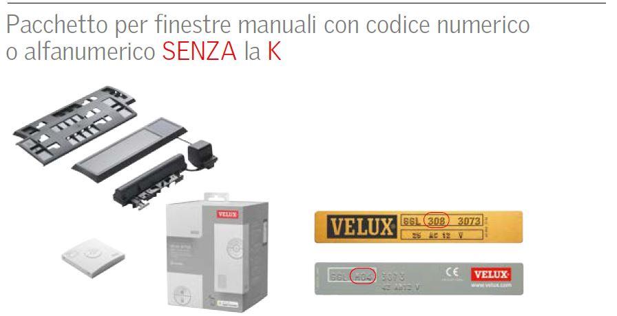 Velux active kix s20007 per finestre manuali vecchio for Motore elettrico per velux